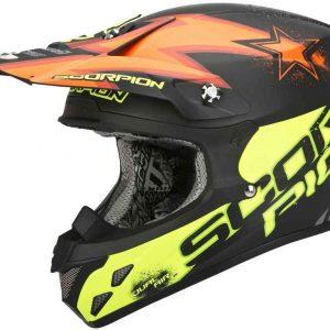 Casco moto SCORPION VX 20 MAGNUM FIBRA