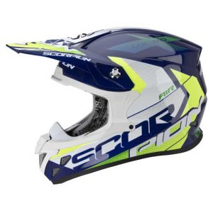 Casco moto SCORPION VX 20 TACTIK FIBRA